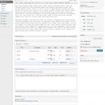 WP Invoice Pro edit invoice page