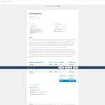 WP Invoice Pro invoice view