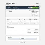 WP Invoice Pro pay with card