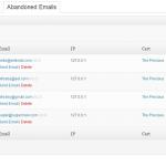 EDD Abandoned Cart emails captured