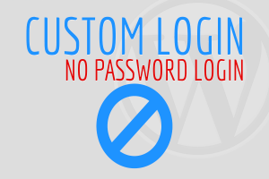 No Password Login