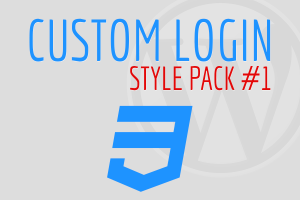 Custom Login Style Pack #1