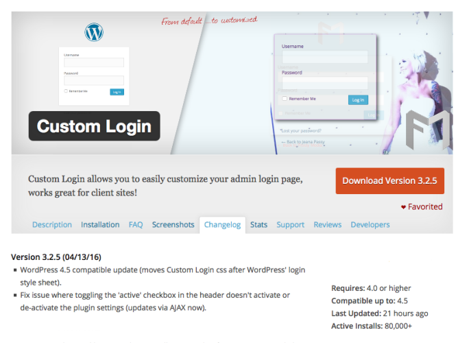 Custom Login v3.2.5