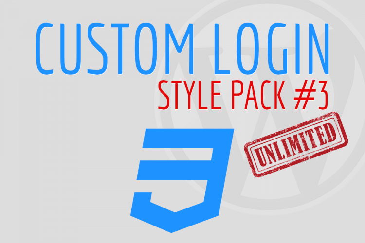 Custom Login Style Pack #3